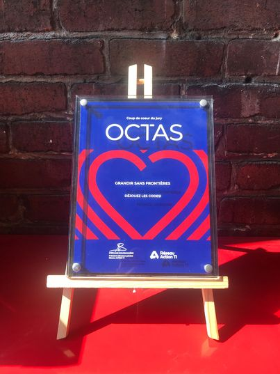Jury Prize at the OCTAS ceremony